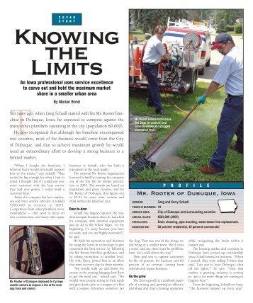Cleaner Magazine January 2007 - US Jetting