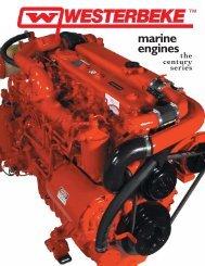 marine engines - Westerbeke