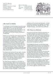 Die Insel La Palma Die Finca La Brevera - labrevera.de