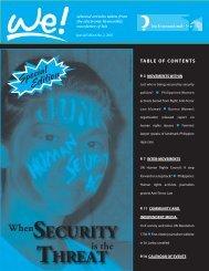we! Special Edition - Isis International Manila