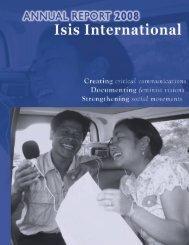 2008 Annual Report Final.pdf - Isis International Manila