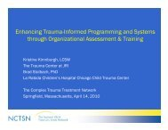 Enhancing Trauma-Informed Programming and ... - WSU Extension