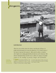 Mired in Mathare