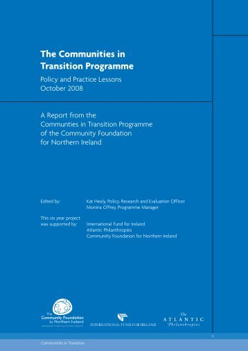 Download The Communities in Transition Programme - Community ...