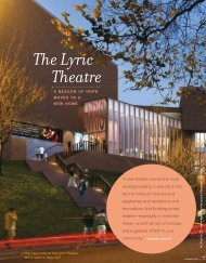 The Lyric Theatre - The Ireland Funds