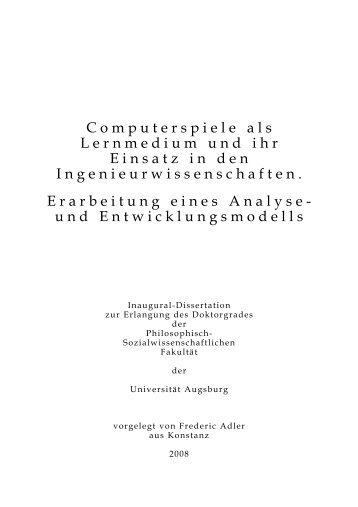 Dokument_1.pdf - OPUS Augsburg - Universität Augsburg