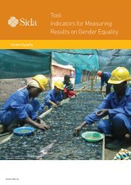Tool: Indicators for Measuring Results on Gender Equality - Indevelop