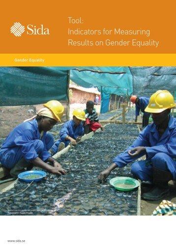 Tool: Indicators for Measuring Results on Gender Equality - Indevelop
