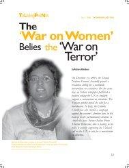 'War on Women' the 'Waron Terror' - Isis International Manila