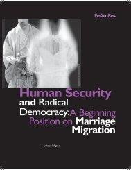 Human Security - Isis International Manila