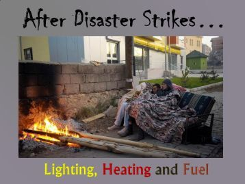 Lighting, Heating and Fuel 2011 ppt.pdf - Peace of Preparedness