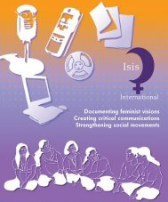 Documenting feminist visions Creating critical communications - Isis ...