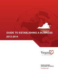 Establishing a Business - New River Valley Economic Development ...