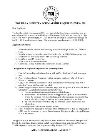 scholarship guidelines template - love of the viejo ravanno