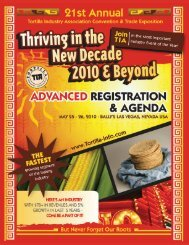 may 25 - 26, 2010 - Tortilla Industry Association