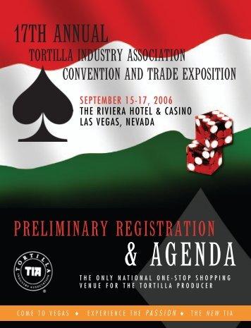 17TH ANNUAL - Tortilla Industry Association