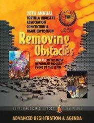 Preliminary Registration Brochure - Tortilla Industry Association