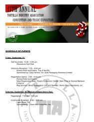 TIA Convention 2006 - Tortilla Industry Association