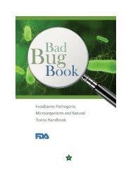 Bad Bug Book Handbook of Foodborne Pathogenic Microorganisms ...