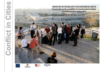 2010 Annual Report available to download here. - Conflict in Cities