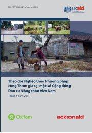 Theo dõi Nghèo theo Phương pháp cùng Tham gia ... - Oxfam Blogs
