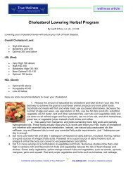 Cholesterol Lowering Herbal Program - D'Arcy Naturals