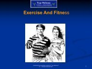 Exercise - True-Wellness