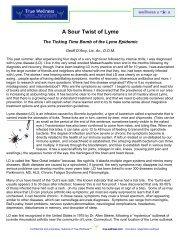 Lyme Disease - True-Wellness
