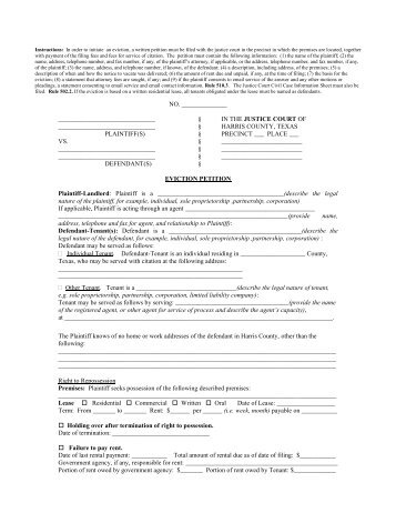 Occupational License - Harris County Justice of the Peace Courts