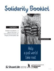 Solidarity Booklet - Development and Peace