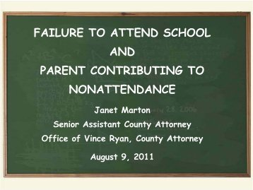 Failure to Attend School (TRIAD) - Harris County Justice of the ...