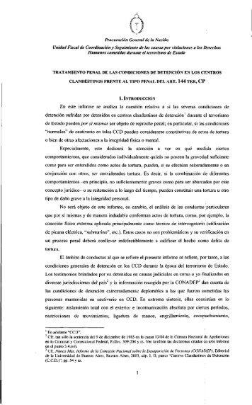 1 - Ministerio Público Fiscal - República Argentina