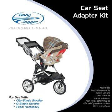 Car Seat (Assem) - Baby Jogger