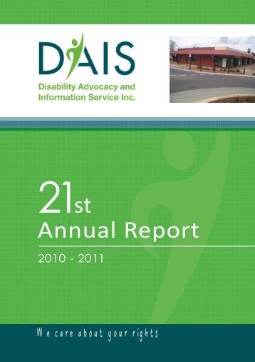 DAIS Annual Report 2011 PDF