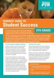 5th Grade - Ohio PTA Common Core