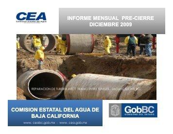 Informe anual 2009 (pdf, 3.7 MB). - Playas y costas de Ensenada