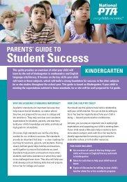 Kindergarten - Illinois PTA