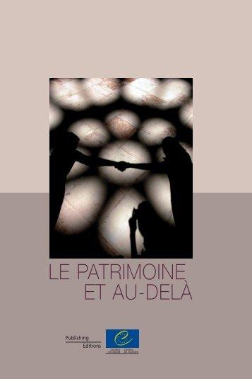 LE PATRIMOINE ET AU-DELÀ - Droits Culturels