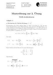 2. Lösung Theorie - Technische Universität Darmstadt