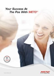 Your Success At The Pos With METO ®