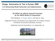slides - Integrated Circuits and Systems Lab - Technische ...