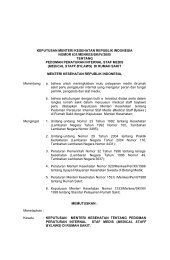 Pedoman Peraturan Internal Staf Medis - Manajemen Rumah Sakit ...