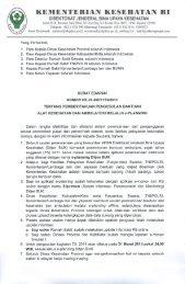 kementerian kesehatan hi - Manajemen Rumah Sakit PKMK UGM