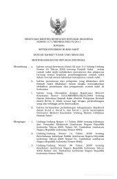 PMK No 1171 Tahun 2011 tentang Sistem Informasi Rumah Sakit