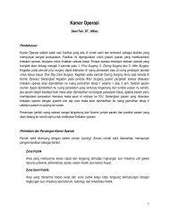 Kamar Operasi - Manajemen Rumah Sakit PKMK UGM