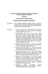standar profesi radiografer - Manajemen Rumah Sakit PKMK UGM