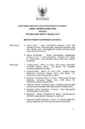 KMK No 496 Tahun 2005 tentang Pedoman Audit Medis Di Rumah ...