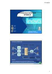 UPDEA - 20100219 - Architecture technique SYGES