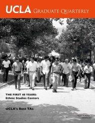 Graduate Quarterly - Winter 2010 - UCLA Graduate Division