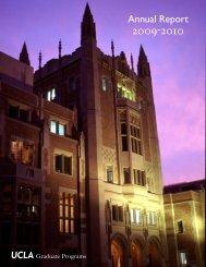 2009-2010 Annual Report - UCLA Graduate Division